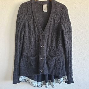 Anthropologie | Far Away From Close Knit Cardigan